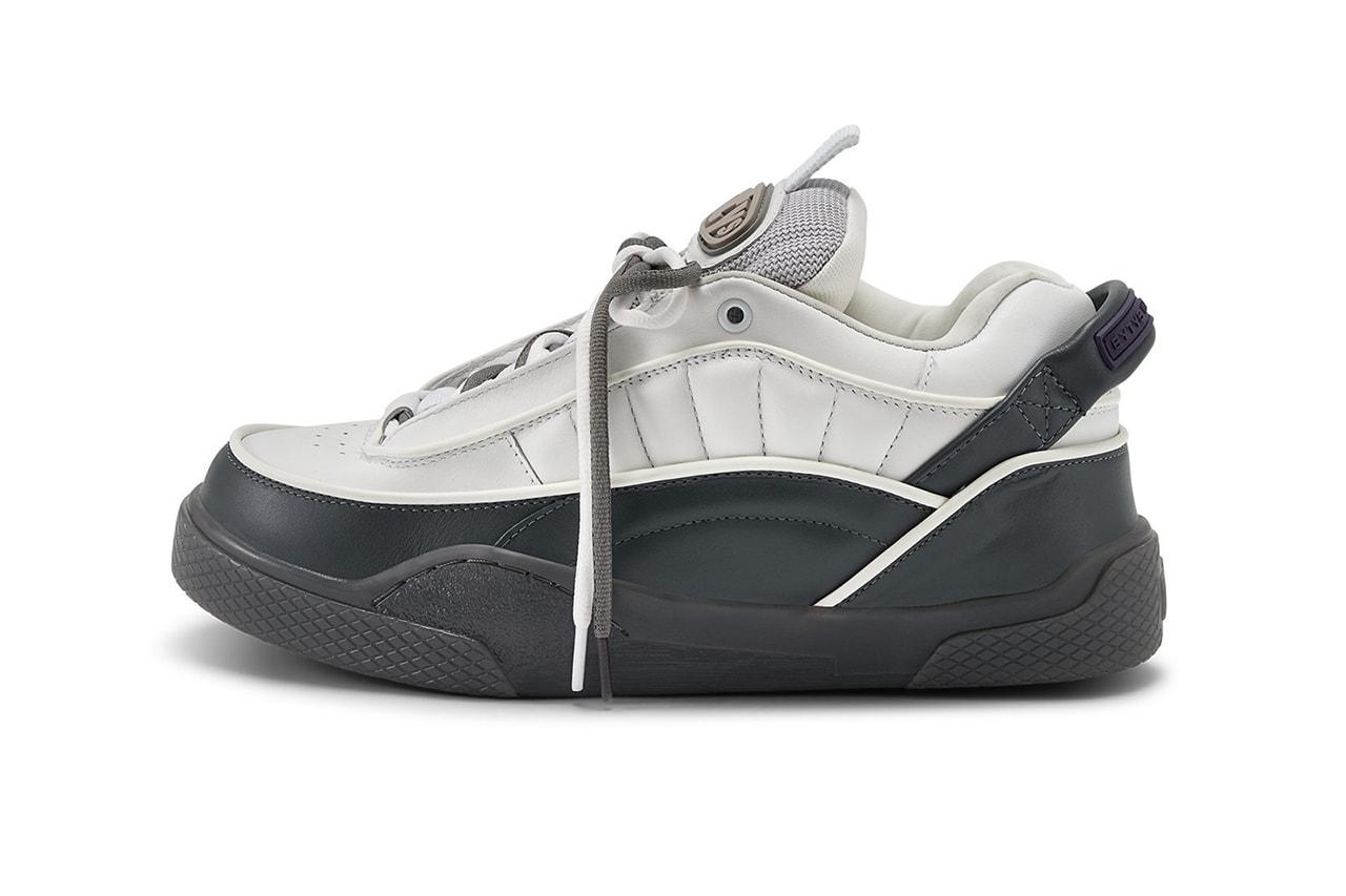 Eytys Harmony Spring/Summer 2020 Lookbook Footwear Release Information Y2K Sneakers 2000s Skateboarding Aesthetic Chunky Shoes