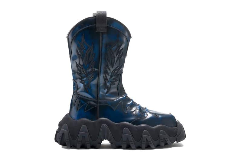 Eytys Impala Boots Blue Black Release Info Buy Price LN-CC