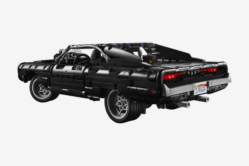 Fast & Furious LEGO Technic Dominic Toretto 1970 Dodge Charger R/T Kit Pre-Order Release Info Black