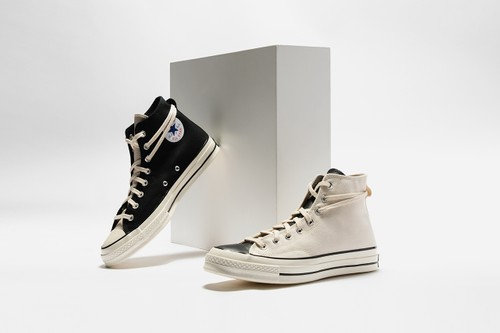 A Closer Look at Fear of God Essentials' Luxe Converse Chuck 70 Collaboration