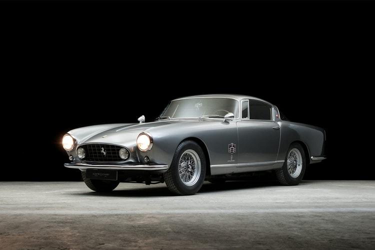A 1956 Ferrari 250 GT Berlinetta Prototipo by Pininfarina is Up for Sale