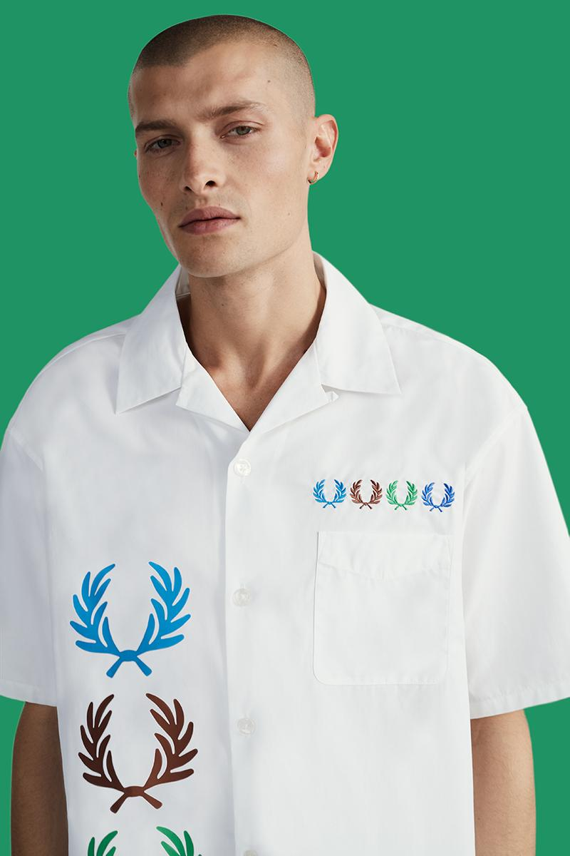 BEAMS fred pery spring summer 2020 ss20 release information collection tracksuit shirt bowling polo t-shirt ee