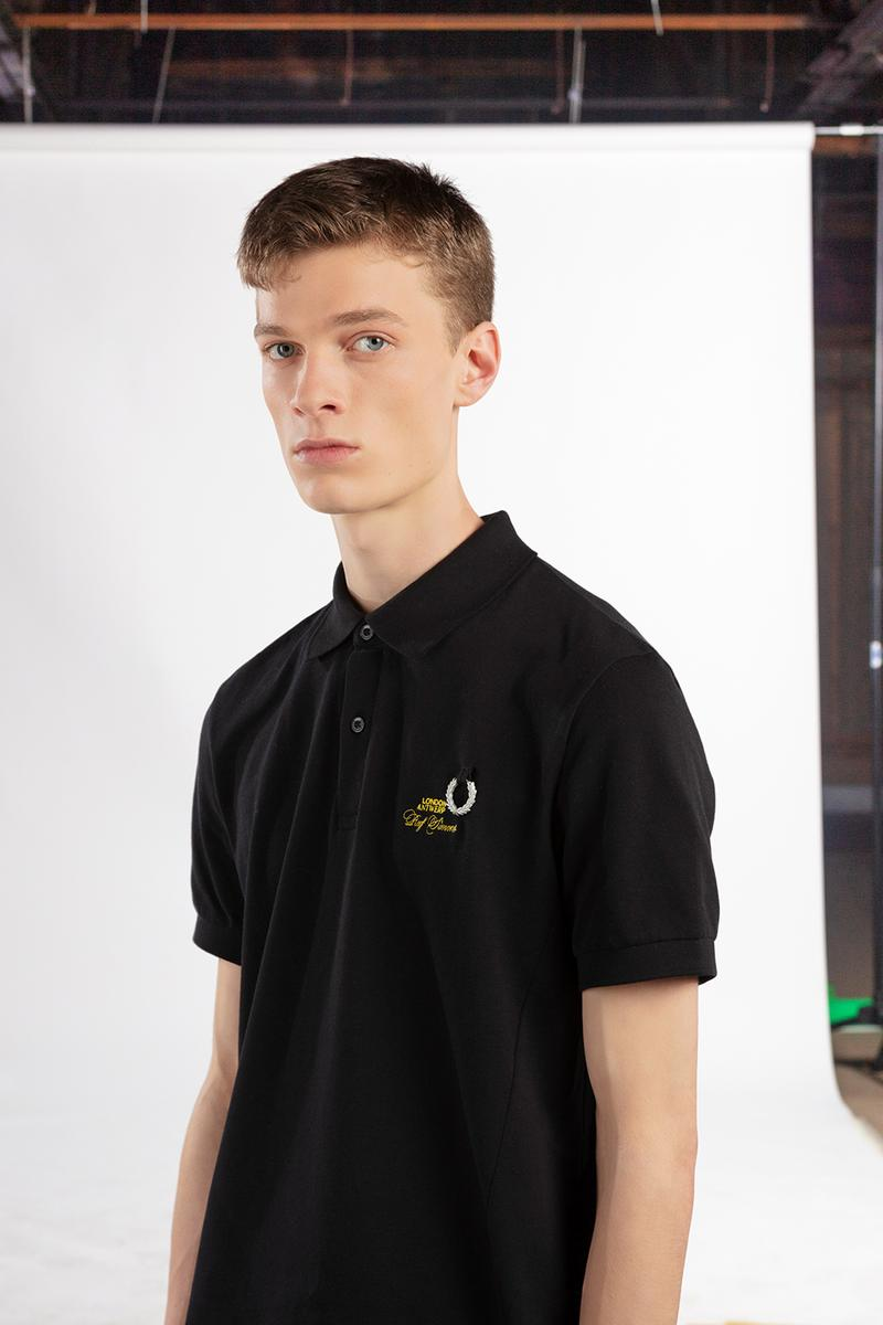 Raf Simons fred perry collection spring summer 2020 release information buy cop purchase gavin watson polo shirt hoodie coach jacket t-shirt