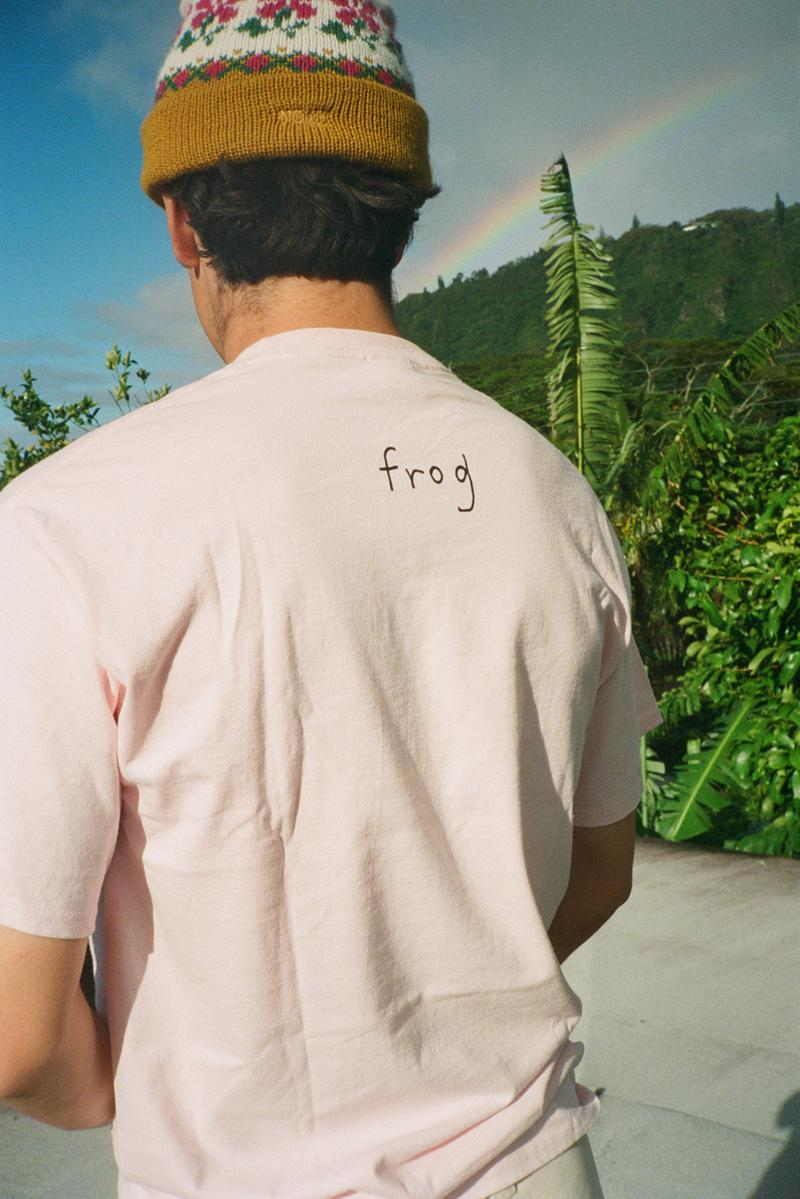 Frog Skateboards x NOAH SS20 Collaboration Lookbook spring summer 2020 collection release date info buy march 26