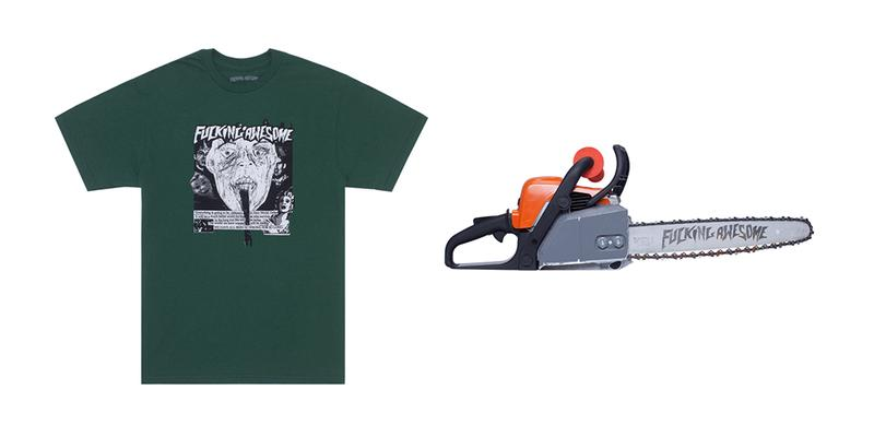 Fucking Awesome 2020 Core First Release Chainsaw Skate Deck Keychain T-shirt Blanket Painting
