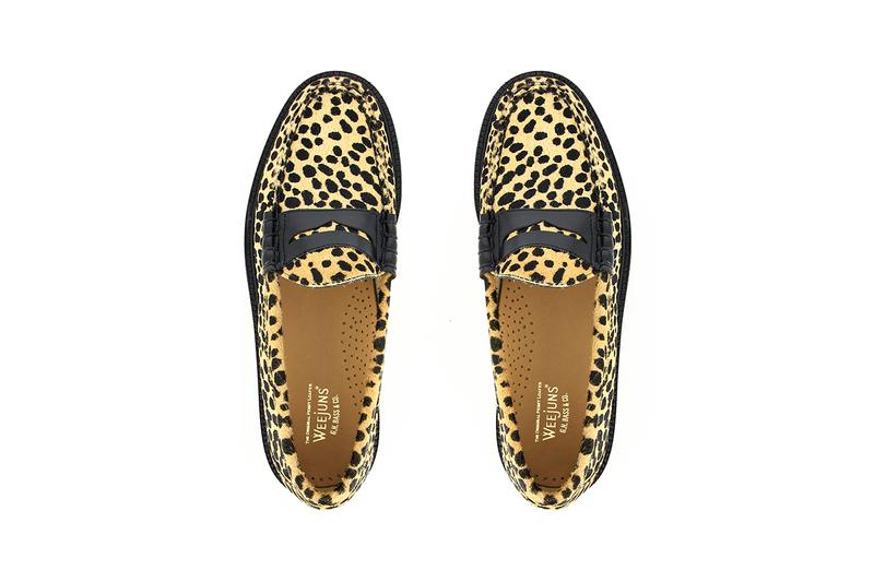 g h bass and co weejuns penny loafer browns zebra cheetah pony hair luxury buy cop purchase release information details