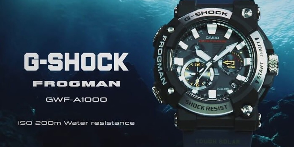 G-SHOCK Unveils Updated Frogman With an Analog Dial