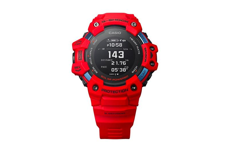 G Shock GBD H1000 1A7 Watch Casio Japanese japan heart rate monitor GPS altimeter barometric pressure bearing temperature acceleration sensors spring summer 2020 collection