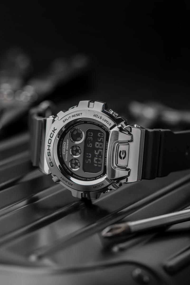 """G-SHOCK GM-6900 series """"Future Legends"""" Campaign Style Makers Groovers silver gold red watch timepiece 90s metal bezel"""