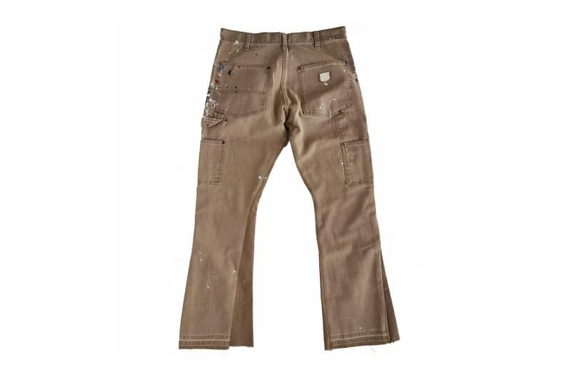 GALLERY DEPT. LA FLARE Tan Carpenter Pants Release Info Buy Price Josué Thomas Virgil Abloh bootcut