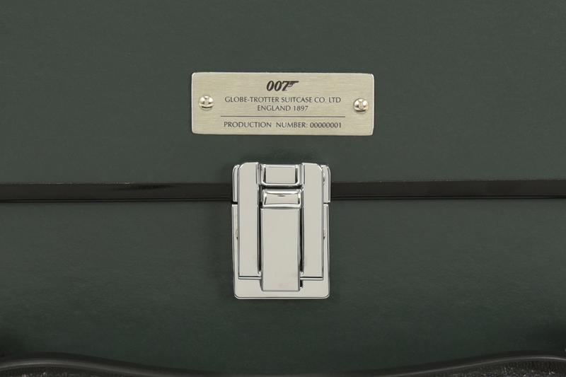 Globe-Trotter 'James Bond: No Time To Die' Luggage Collection 007 British cases suitcases movies films