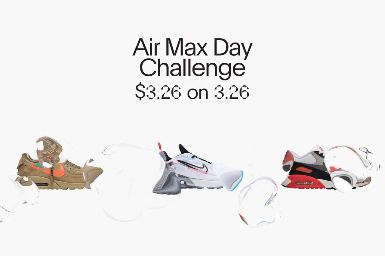 GOAT Nike Air Max Day 2020 Challenge