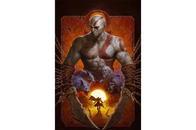 god of war fallen god comic book series dark horse sony video games gaming rpg franchise kratos zeus athena norse mythology