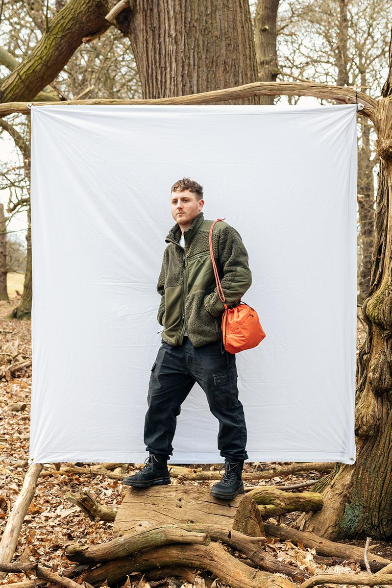 Greater Goods Side Bag Collection Lookbook Sustainable Upcycling London Based Brand Reworked GORE-TEX Canvas Textiles Materials Patina Finish Unique Products Webbing Cords