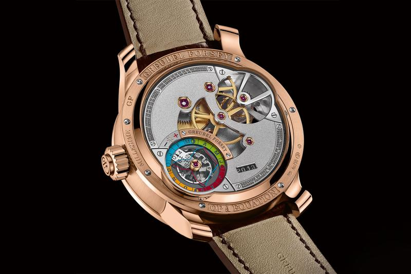 greubel forsey QP À Équation watches 15 complications 75 jewel movement rose gold brown luxury swiss accessories