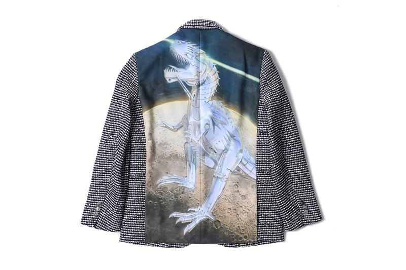 Hajime Sorayama x Poggy Capsule Collection Release coat jacket wool buy info robot illustration 2g tokyo 1 one of a kind