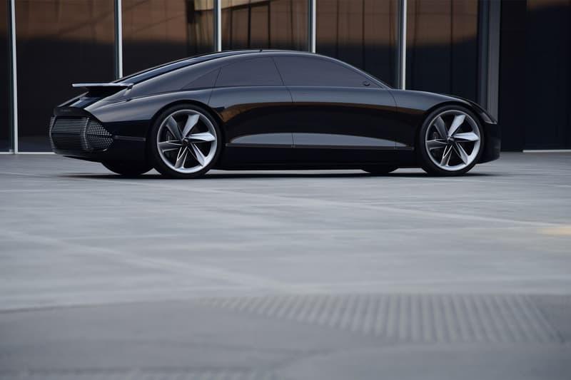 hyundai prophecy futuristic hyper concept car unveil debut automation autonomous electric vehicle
