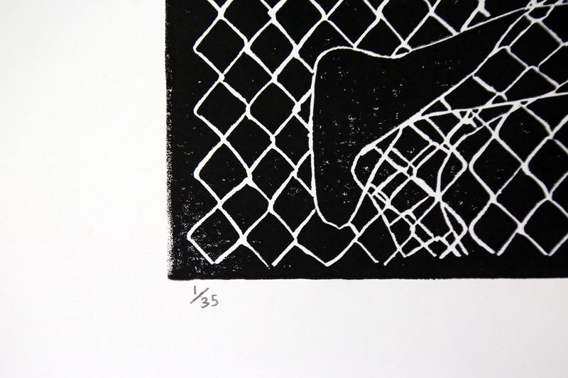 icy and sot break free limited edition print linocut artworks collectibles editions