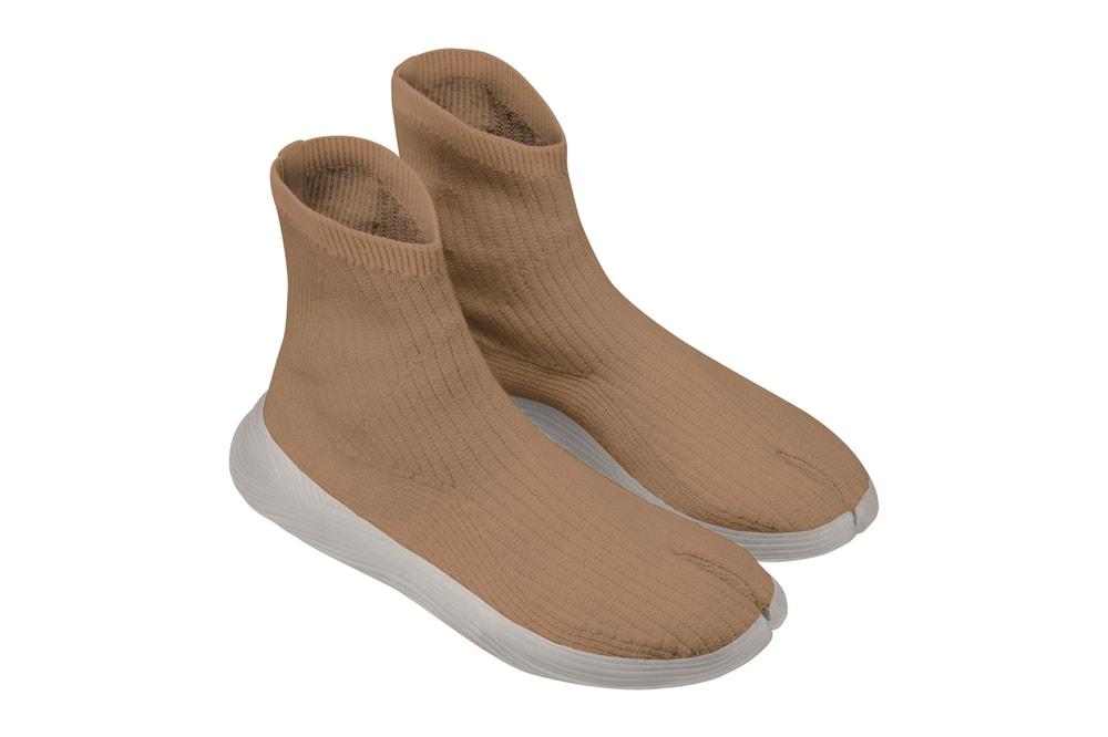 ILYSM Vegan Tabi Sneaker Earth Month Release Info Buy Price YEEZY Lime Orange Lilac Brown White Black Sustainable Footwear