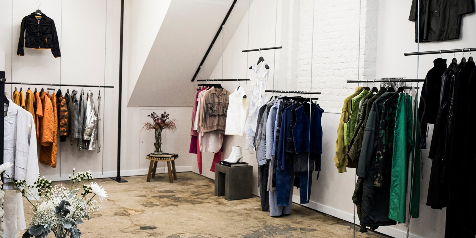 Aro Archive Is Paving the Way for Pre-Owned Luxury Community Education Preservation University Insiders Guide Vintage Clothing UK London Stores Rare Unique Raf Simons Issey Miyake Supreme Stone Island Y2K 1990s Inside Look London Fashion Week Positive Fashion Exhibition Yohji Yamamoto LFW Pre-Owned Runway Antwerp Samples One Off Pieces