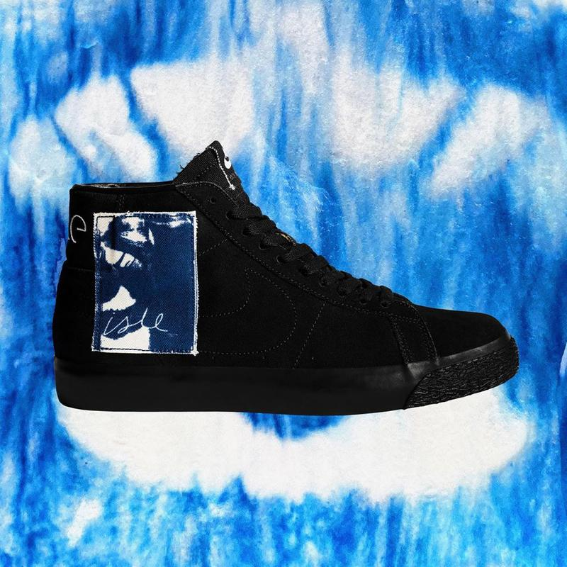 isle skateboards nike sb blazer mid black blue CW2186 001 release date info photos price