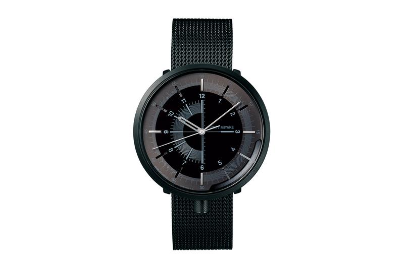 "Issey Miyake ""1/6"" Mechanical Watch by Nao Tamura designer architect retail price buy colorways"