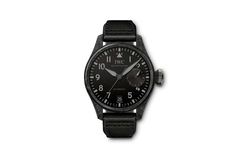 iwc big pilots watch edition black carbon colorway release