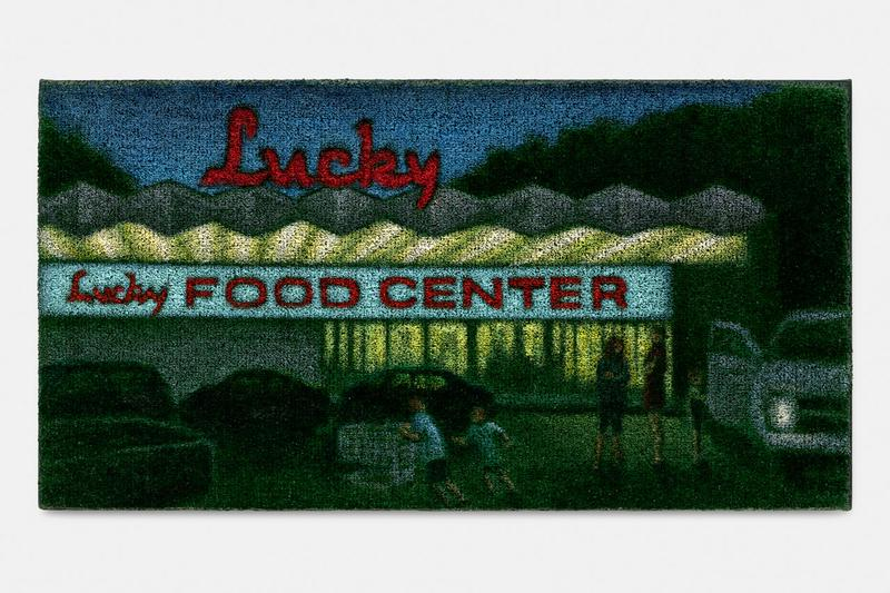jane dickson lucky food stems gallery exhibition paintings artworks