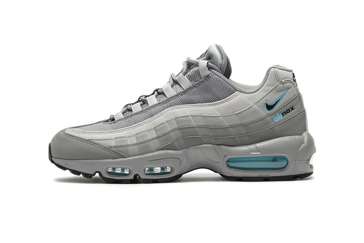 Exclusive Nike Air Max 95 in Grey/Blue
