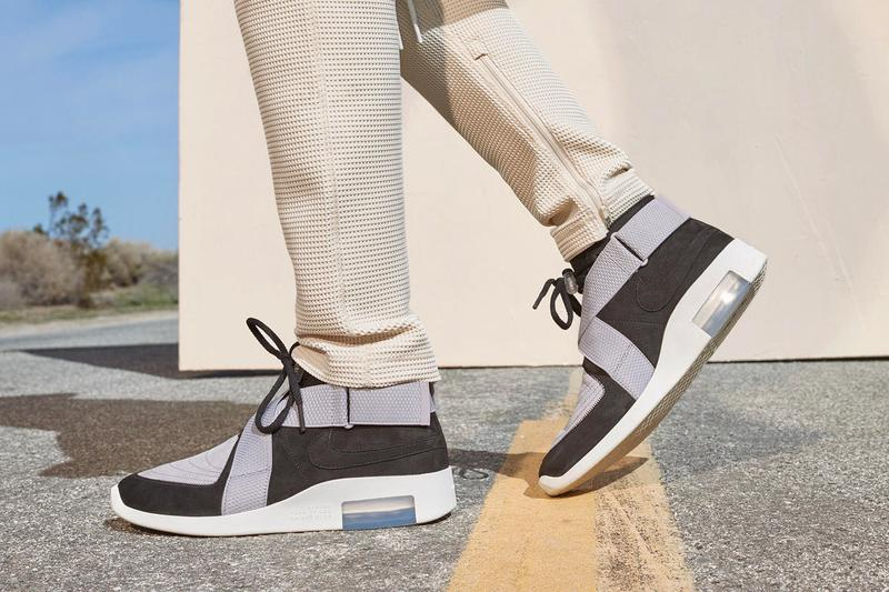 Jerry Lorenzo Nike Air Fear of God Raid F&F Release Announcement Info Basketball Collection Black Grey Friends Family