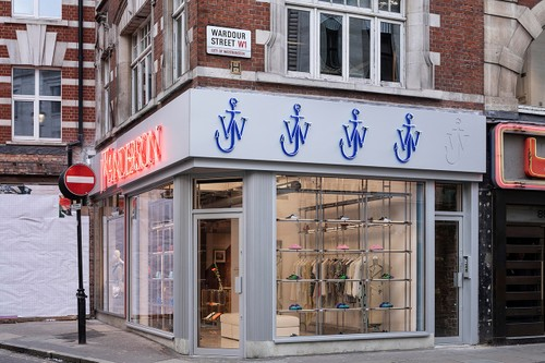 Take a Look Inside JW Anderson's Flagship in Soho, London