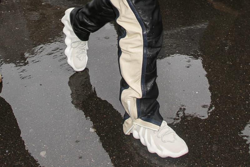 kanye west adidas yeezy 451 sneaker debut paris fashion week