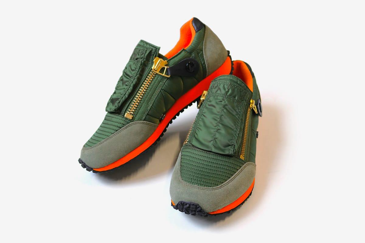 KAPITAL MA-1 Sneakers | HYPEBEAST