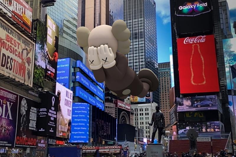 kaws expanded holiday companion acute art app augmented art