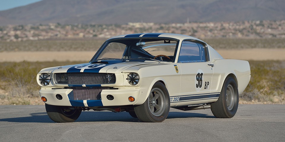 Ken Miles' Race-Winning 1965 Ford Mustang Shelby GT350R Heads to Auction