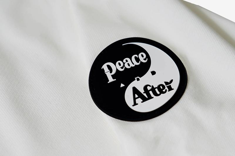 Kosuke Kawamura PEACE AND AFTER Capsule Collection Release Info Buy Price Black White