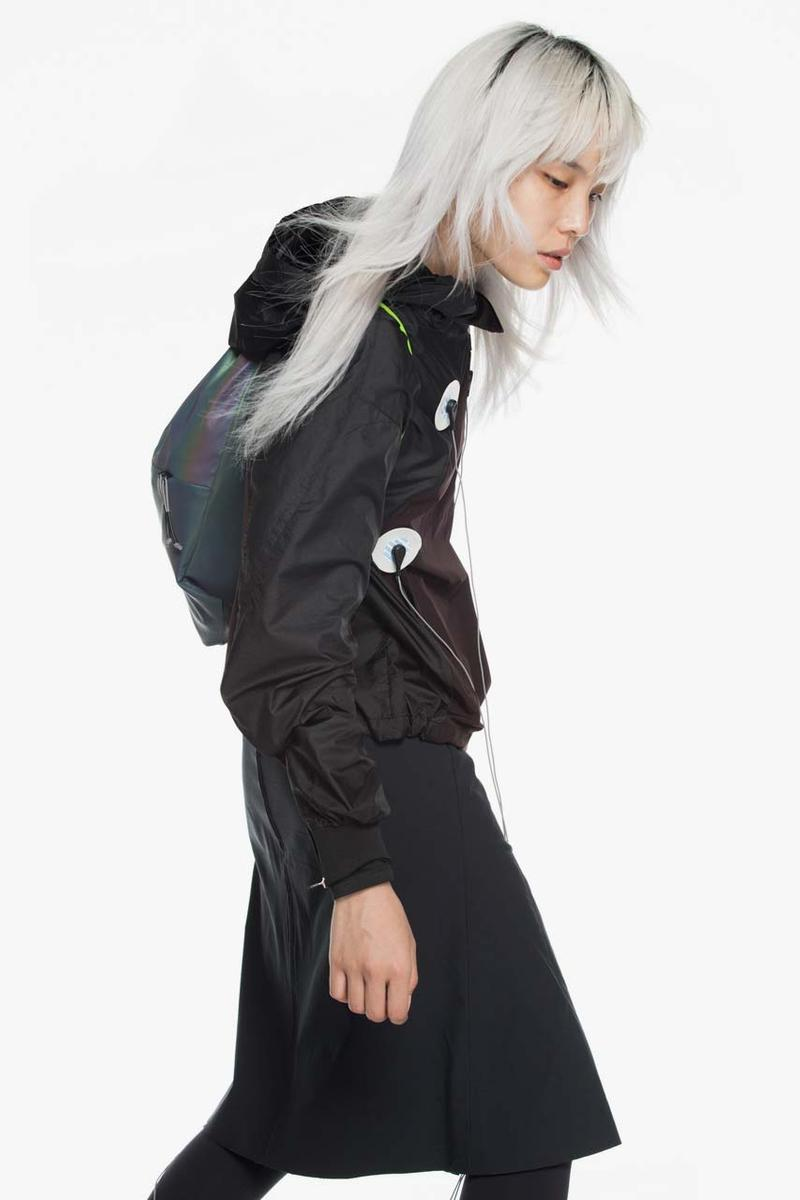 krakatau spring summer 2020 ss20 collection tech wear jackets raincoat graphene outerwear membrane strongest material