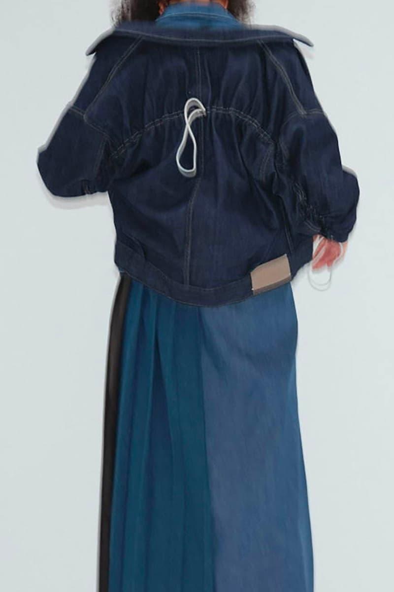 KURO Fall Winter 2020 2021 Lookbook collection menswear streetwear japanese brand black autumn denim made in japan minimalistic Yusuke Yabashi distressed jeans paint splatter