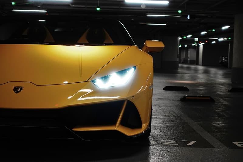 Lamborghini Huracán EVO Spyder Closer Look supercar raging bull drifting Dinamica Veicolo Integrata LDVI Geneva Motor Show Hong Kong