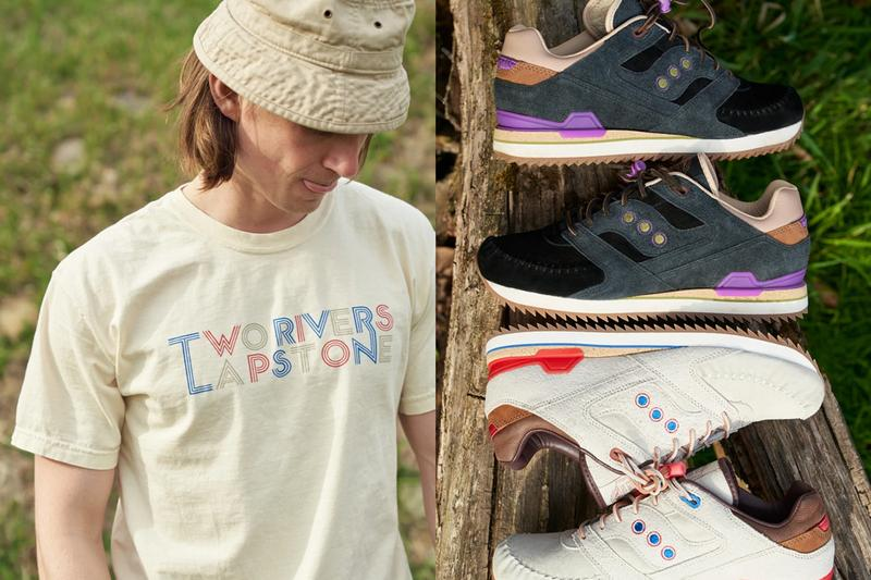 lapstone and hammer saucony courageous moc two rivers tan red blue black purple release date info photos price