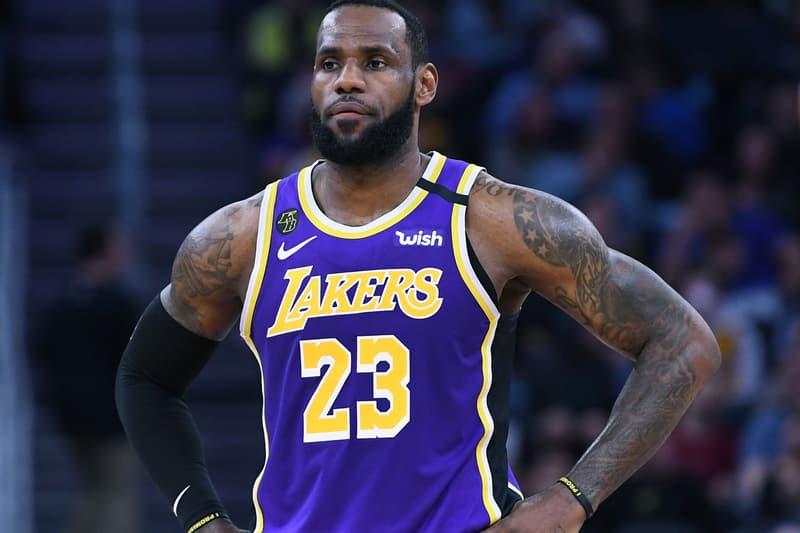 LeBron James Coronavirus NBA Fan Comment  live events sports basketball NBA LA Lakers