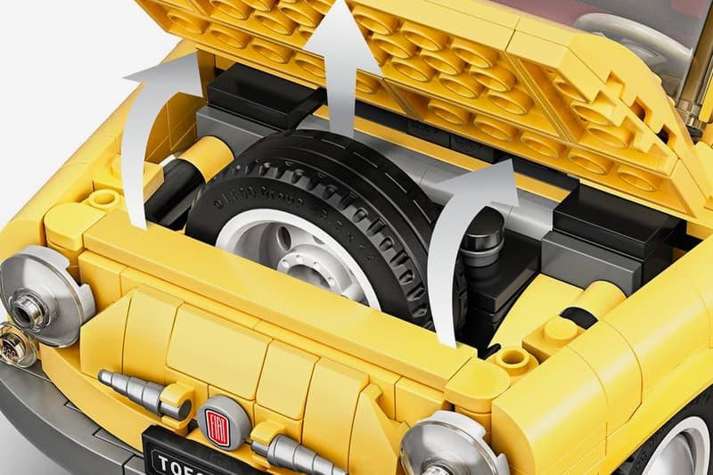 LEGO Creator Expert Fiat 500 Release cars Italian Rome Figures collectible classic automotive