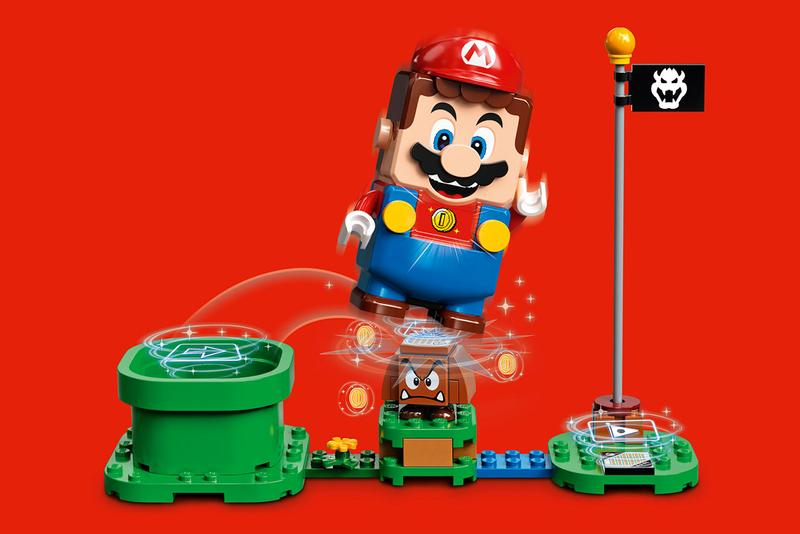 Nintendo 'Super Mario' x LEGO Kit Collaboration teaser image question block plumber release date buy figure mar10 day