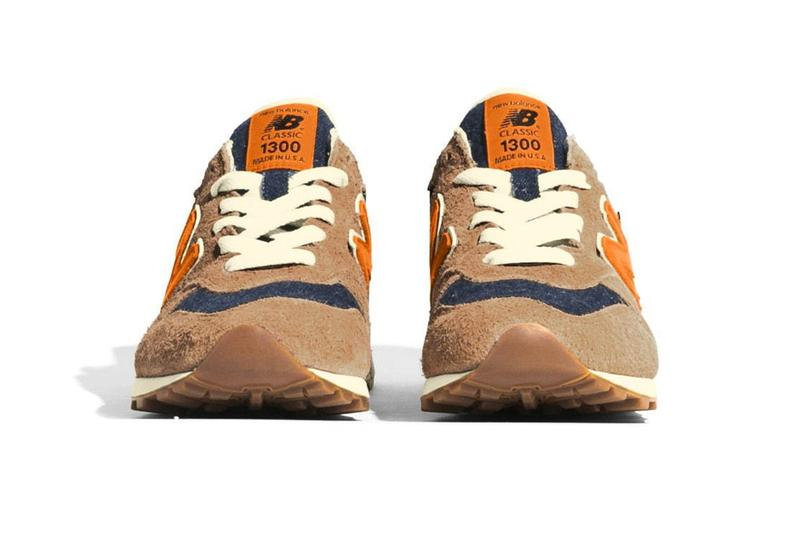 Levis x New Balance M1300CL SS20 Sneaker Collaboration shoe release date march 26 2020 limited edition japan drop buy colorway denim leather for feet orange tab