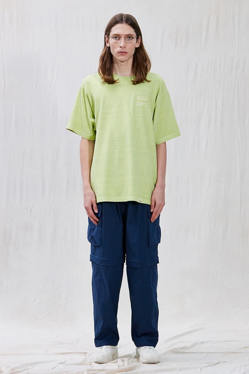 "LIFUL MINIMAL GARMENTS Summer 2020 Collection ""Life is Beautiful"" Slogan Lookbook Menswear Korean Streetwear Label Imprint Design Graphics '90s Inspirations"