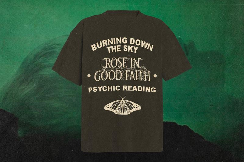 Lil Skies ROSE IN GOOD FAITH Capsule Collection Release Info Date Buy Price Hoodies T shirt Shorts