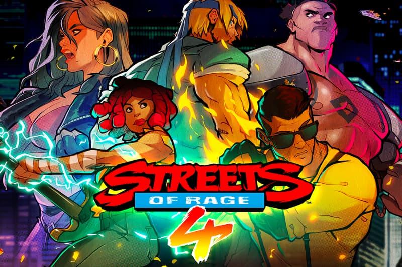 Streets of Rage 4 SEGA Genesis Packaging News gaming beat em up 1990s SEGA Genesis Dotemu gaming scrolling fighting nostalgia
