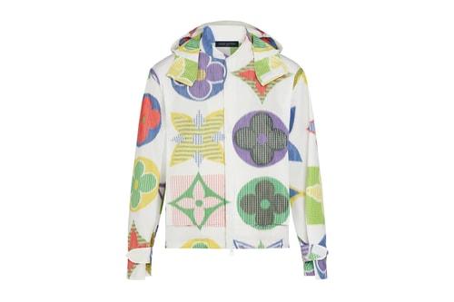 Louis Vuitton Drops Colorful Jumbo Monogram Windbreaker