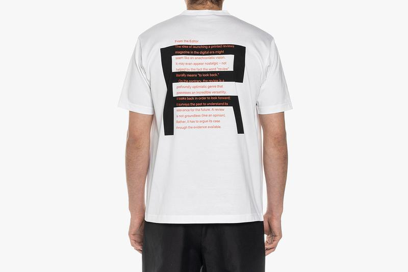 magCulture x Junya Watanabe MAN T-Shirts Release 'The Real Review' 'Civilization' Independent Beer Maker Dobri New York Newspaper Cult Press Imagery Industry Architecture Culture Politics White Tees Print Graphics