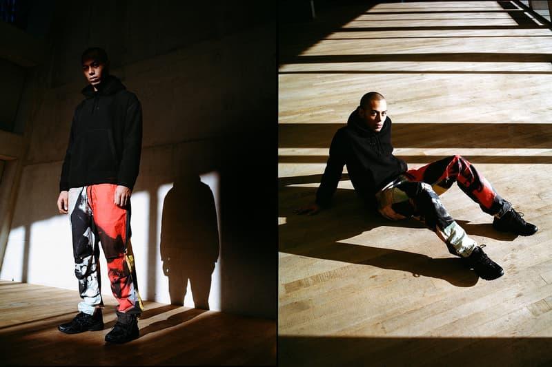 Andy Warhol x maharishi Tate Modern Shop Apparel Skull Stadium Jacket Trousers 'Skull'Series